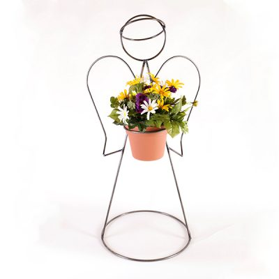 angel plant stand | RS Welding Studio