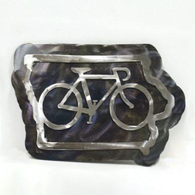 Bike Iowa - Two Tone