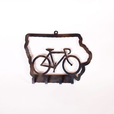 Bike Iowa Key Holder