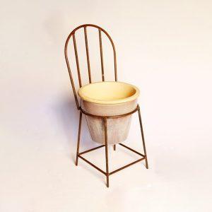 child chair planter   RS Welding Studio