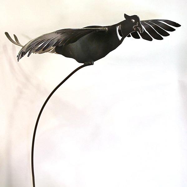 flying pheasant stake | RS Welding Studio
