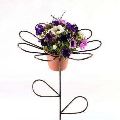butterfly daisy flower holder | RS Welding Studio