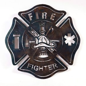 fire fighter shield | RS Welding Studio