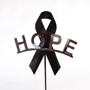 hope cancer ribbon   RS Welding Studio