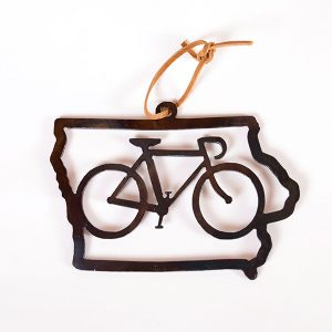 iowa bicycle ornament | RS Welding Studio