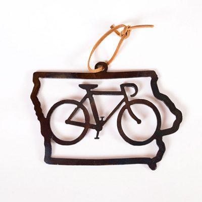 Bike Iowa Ornament