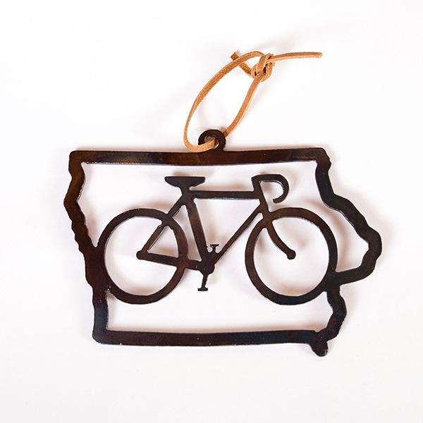 iowa bicycle ornament | RS Welding Studio