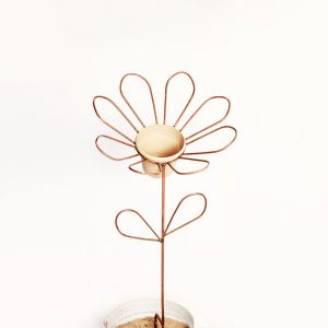 eight petal flower stake | RS Welding studio