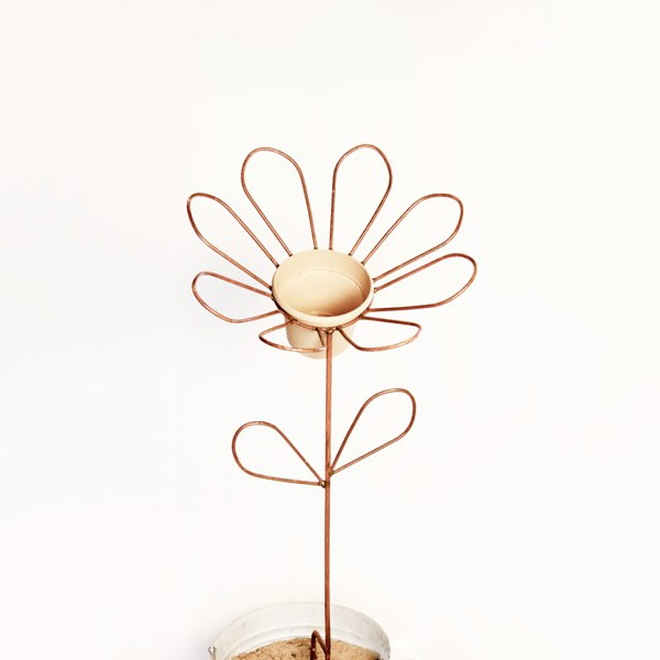 eight petal flower stake   RS Welding studio