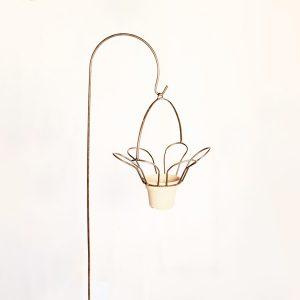 flower planter shephard hook | RS Welding Studio