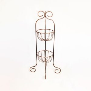 two-teir plant stand | RS Welding Studio