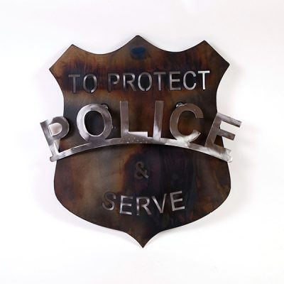 police shield | RS Welding Studio
