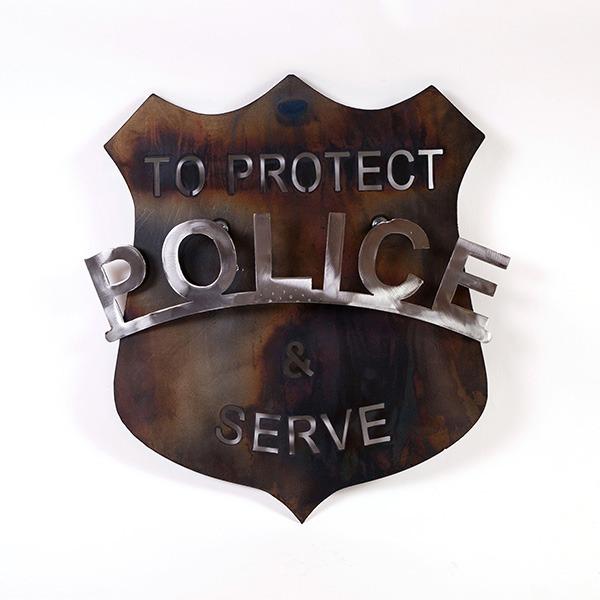 police shield | RS Welding Studio