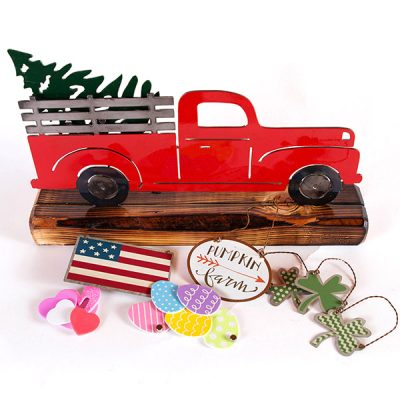 Holiday Red Truck