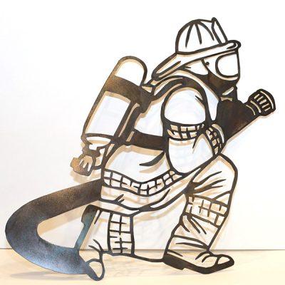 Fireman w/Hose