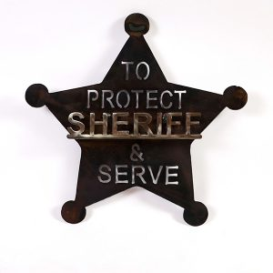 sheriff shield | RS Welding Studio