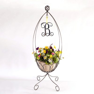 Special Edition 4-sided Planter with Letter