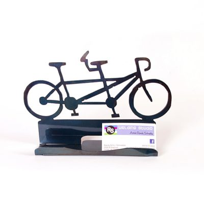 Tandem Bicycle Business Card Holder