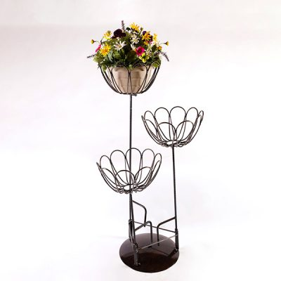 ten petal flower stakes | RS welding Studio