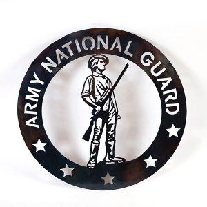 unites states national guard emblem | RS Welding Studio