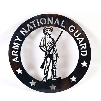 unites states national guard emblem | RS Welding Studio