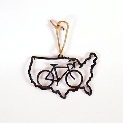 Bike USA Ornament