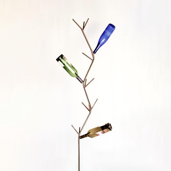 wine bottle tree | RS Welding Studio