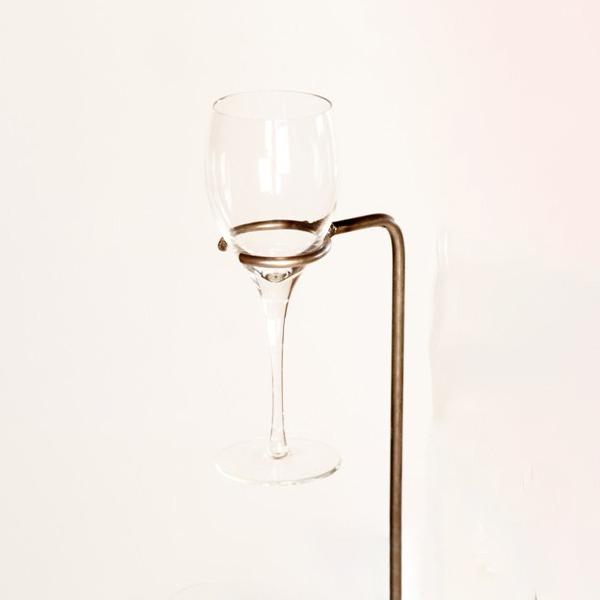 wine glass holder   RS Welding Studio