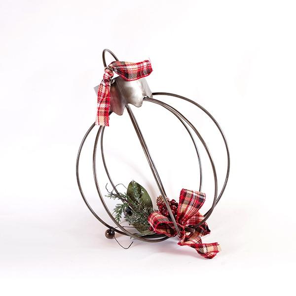 winter ball ornament   RS Welding Studio